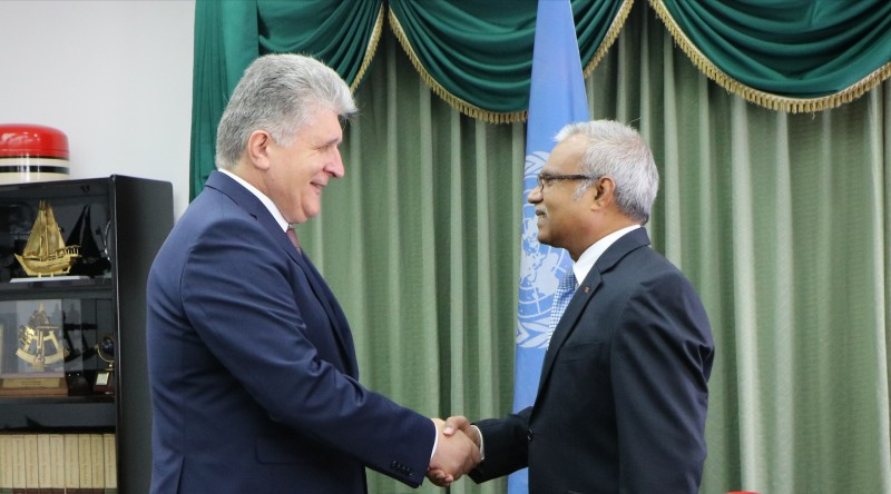United Nations Assistant Secretary General Calls on Foreign  ... Image 1