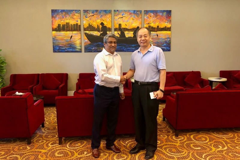 His Excellency Mr. Wang Xiaotao, Representative of the Chine ... Image 1