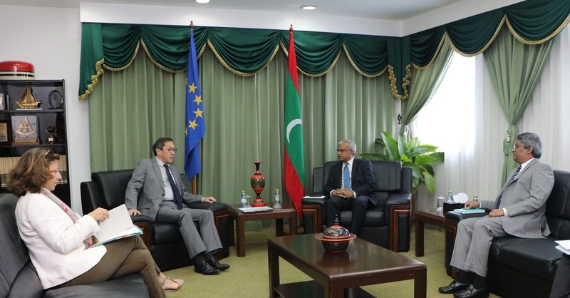 Ambassador of the European Union calls on Foreign Minister A ... Image 1