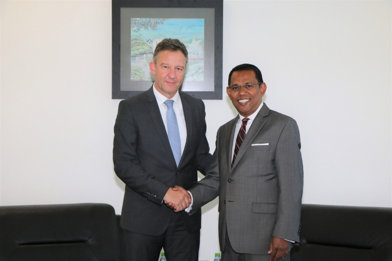 Director General for South Asia at the German Foreign Office ... Image 1