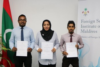 Certificates of Achievement awarded to graduates of FOSIM Co ... Image 1