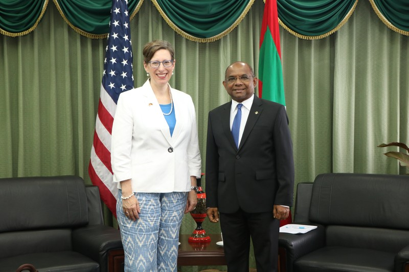 New US Ambassador Her Excellency Alaina Teplitz, calls on th ... Image 1