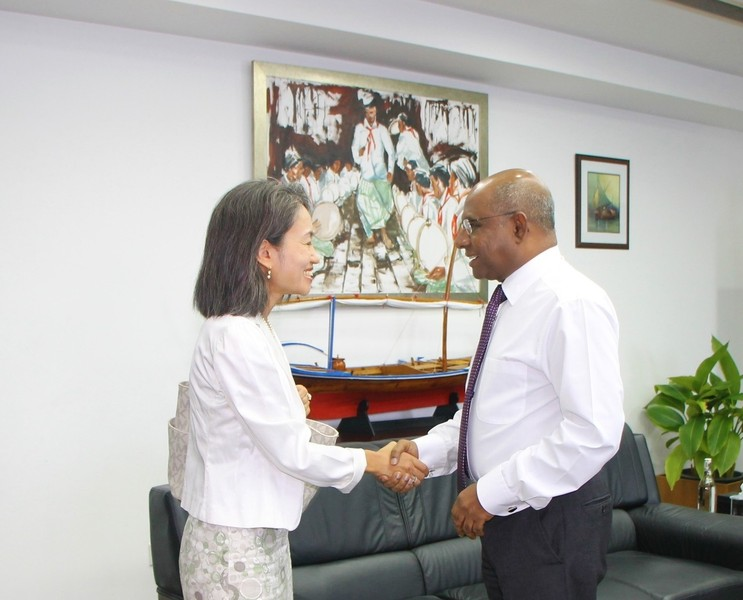 The UN Resident Coordinator Calls on the Foreign Minister Image 1