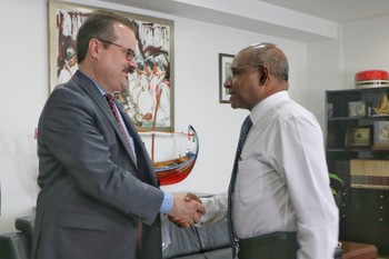 US Deputy Assistant Secretary of State, David Ranz, calls on ... Image 1