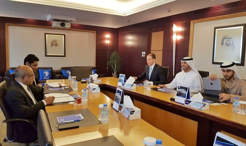 Foreign Minister meets the Acting CEO of ADNOC Distribution Image 1