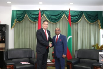 New Ambassador of Switzerland calls on Foreign Minister Shah ... Image 1
