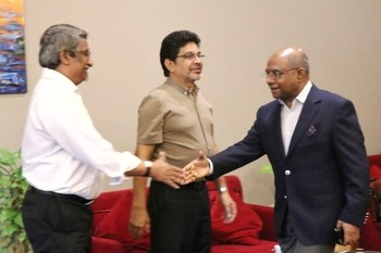 Foreign Minister Departs on Official Visit to the United Sta ... Image 1