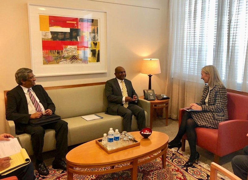 Foreign Minister Shahid holds meetings with the US State Dep ... Image 1