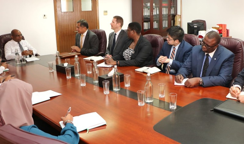 Commonwealth Team Calls on the Foreign Minister Image 1