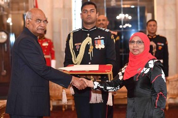 The New Ambassador of Maldives to India Presents Credentials Image 1