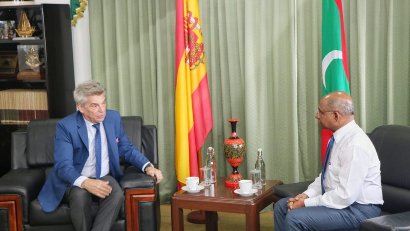 Newly Appointed Spanish Ambassador calls on the Minister of  ... Image 1