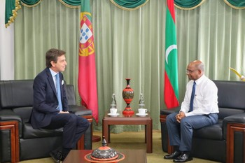 Newly Appointed Portugal Ambassador calls on the Minister of ... Image 1