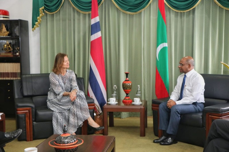 Norwegian State Secretary calls on Foreign Minister Abdulla  ... Image 1