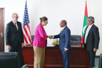 Maldives and the US sign Development Objective Grant Agreeme ... Image 1