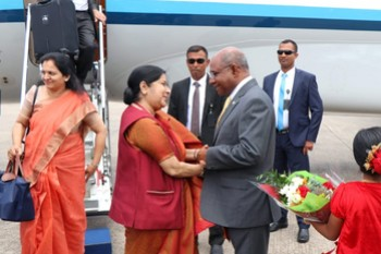 Minister of External Affairs of the Republic of India arrive ... Image 1