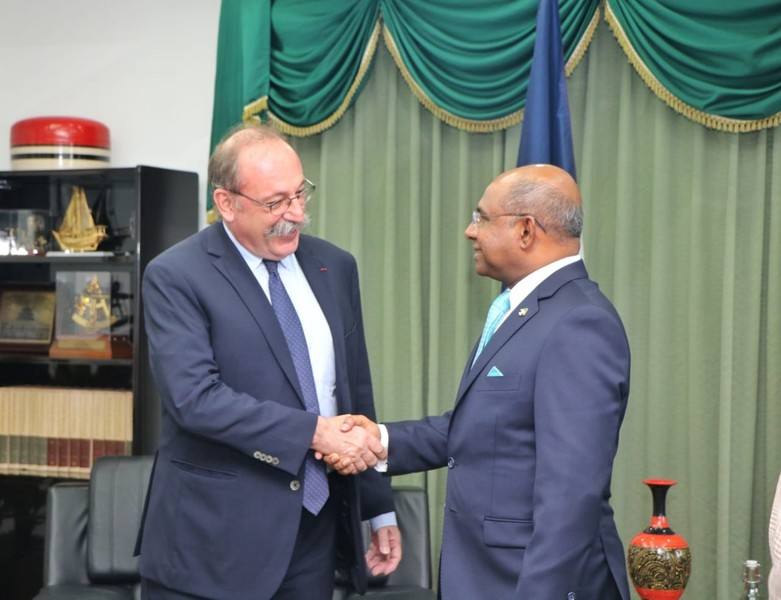 Newly Appointed Ambassador of France calls on the Foreign Mi ... Image 1
