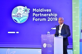 President Solih inaugurates the Maldives Partnership Forum 2 ... Image 1