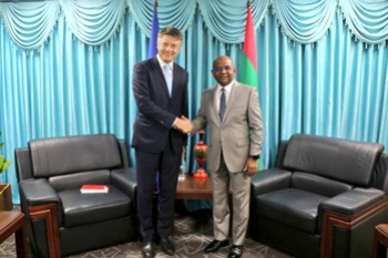 Newly Appointed Ambassador of the European Union calls on th ... Image 1