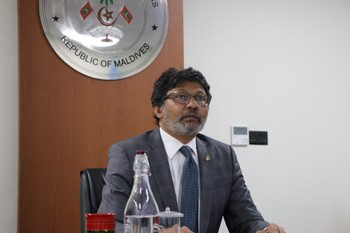 The Maldives participates in the Tenth Bi-Annual Meeting of  ... Image 1